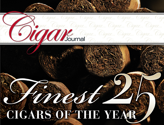 cigar journal finest 25 cigars of the year image