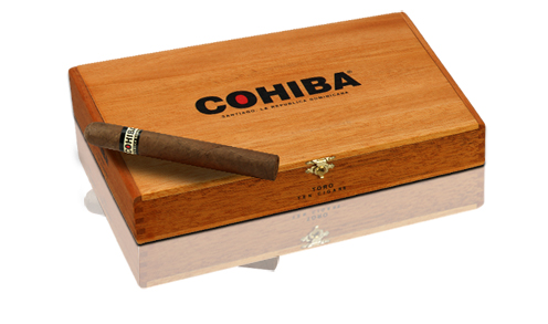 cohiba cigars box closed image