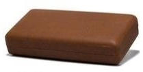 Csonka Cigar Traveller Humidor, Saddle Tan - Best Seller! image