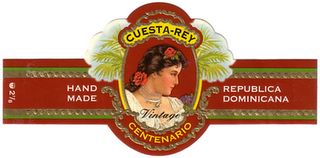 cuesta rey robusto no 7 cigar band image