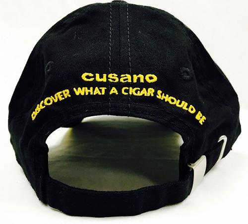 cusano cigars logo hat back image