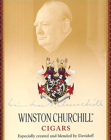 Winston Churchill, by Davidoff Chequers - 5 Pack image