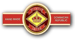 diamond crown no 5 cigars band image