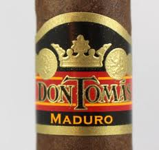 don tomas maduro cigars close up image