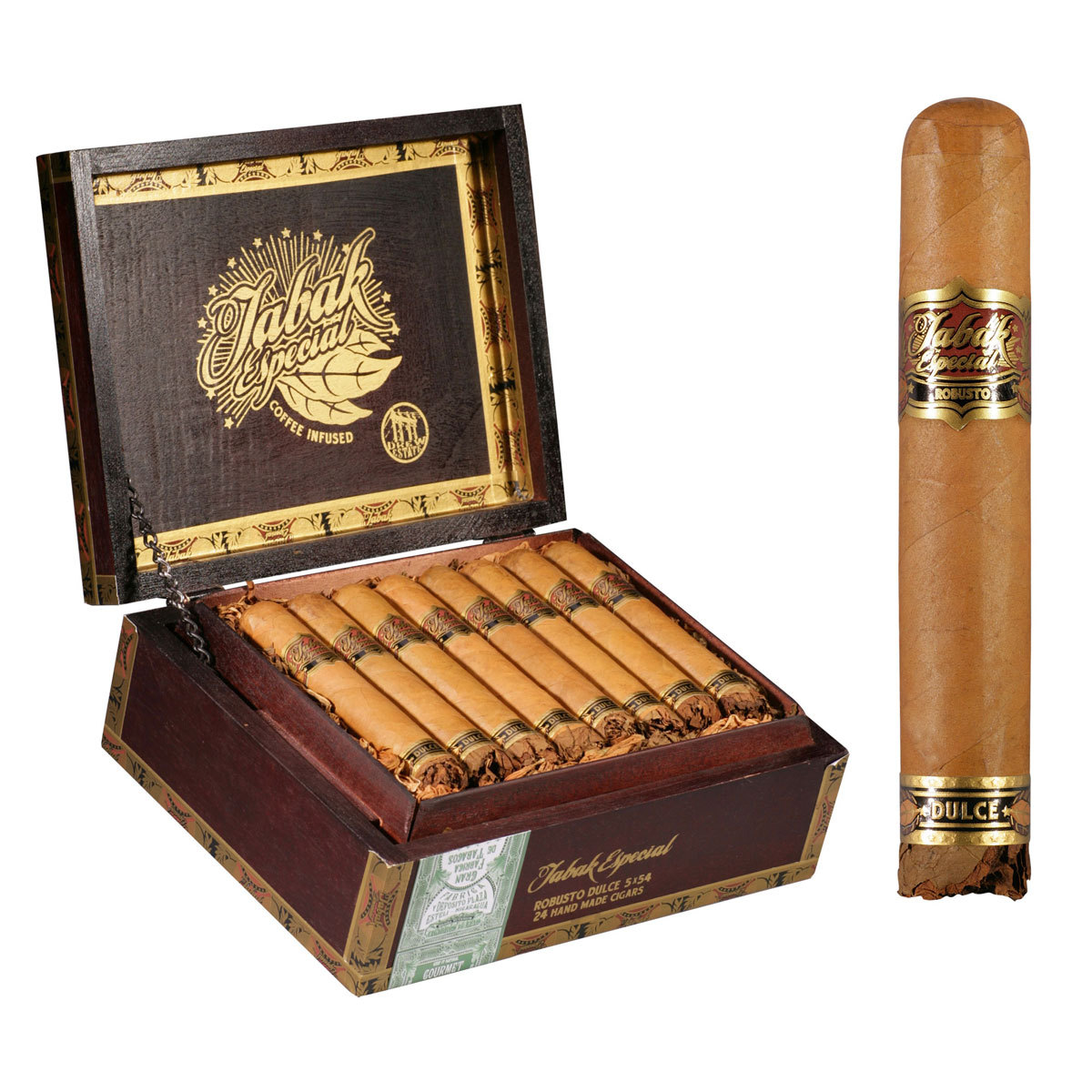 Drew Estate Tabak Belicoso, Negra - Box of 24 image