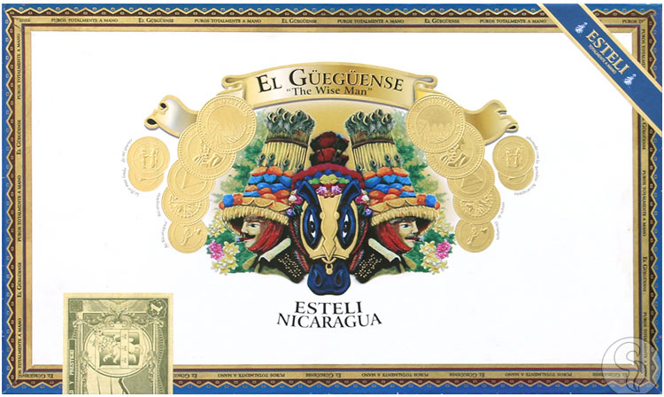 el guegense cigars box closed image