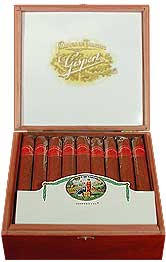 gispert toros cigars box open image
