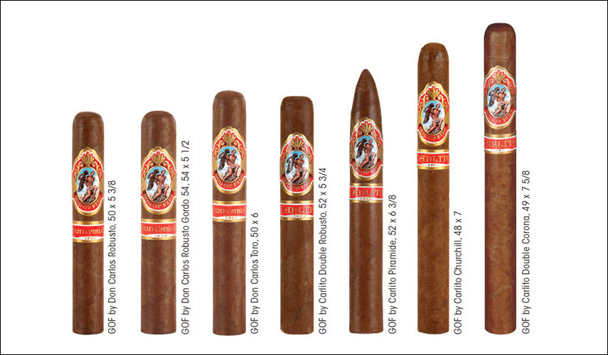 God of Fire by Don Carlos Robusto - Box of 10 image