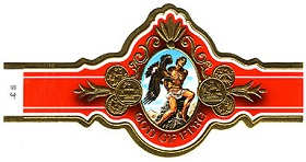 god of fire cigars band image