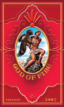 god of fire cigars graphic image