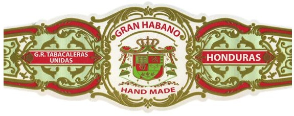 gran habano connecticut vintage 2004 cigar band image