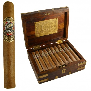Gurkha 125th Anniversary cigar box image