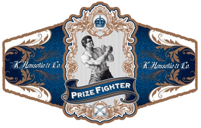 gurkha prize fighter gordos cigar band image