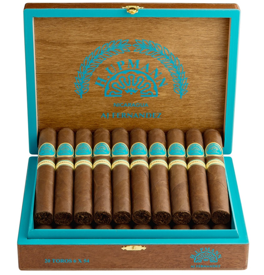 h upmann by aj fernandez toro cigars box open image