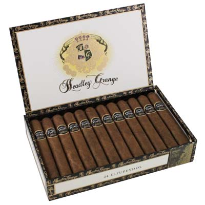 headley grange corona cigars box open image