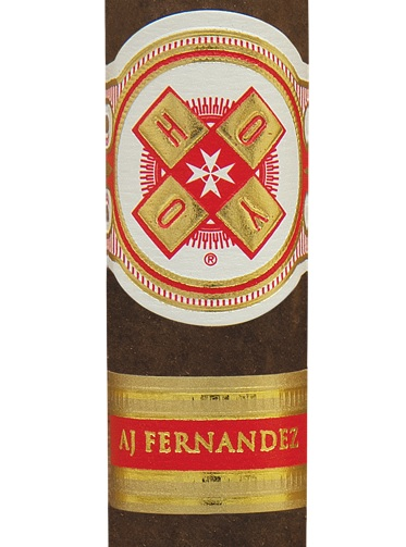 hoyo la amistad by aj fernandez cigar close up image