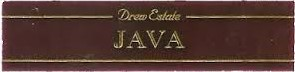 java by drew estate cigars band image