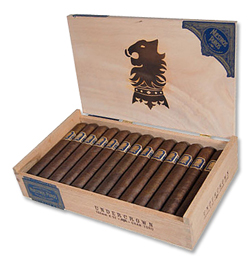 undercrown corona doble cigars box open image