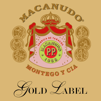 Macanudo Gold Label Hampton Court, Robusto - Box of 25  image