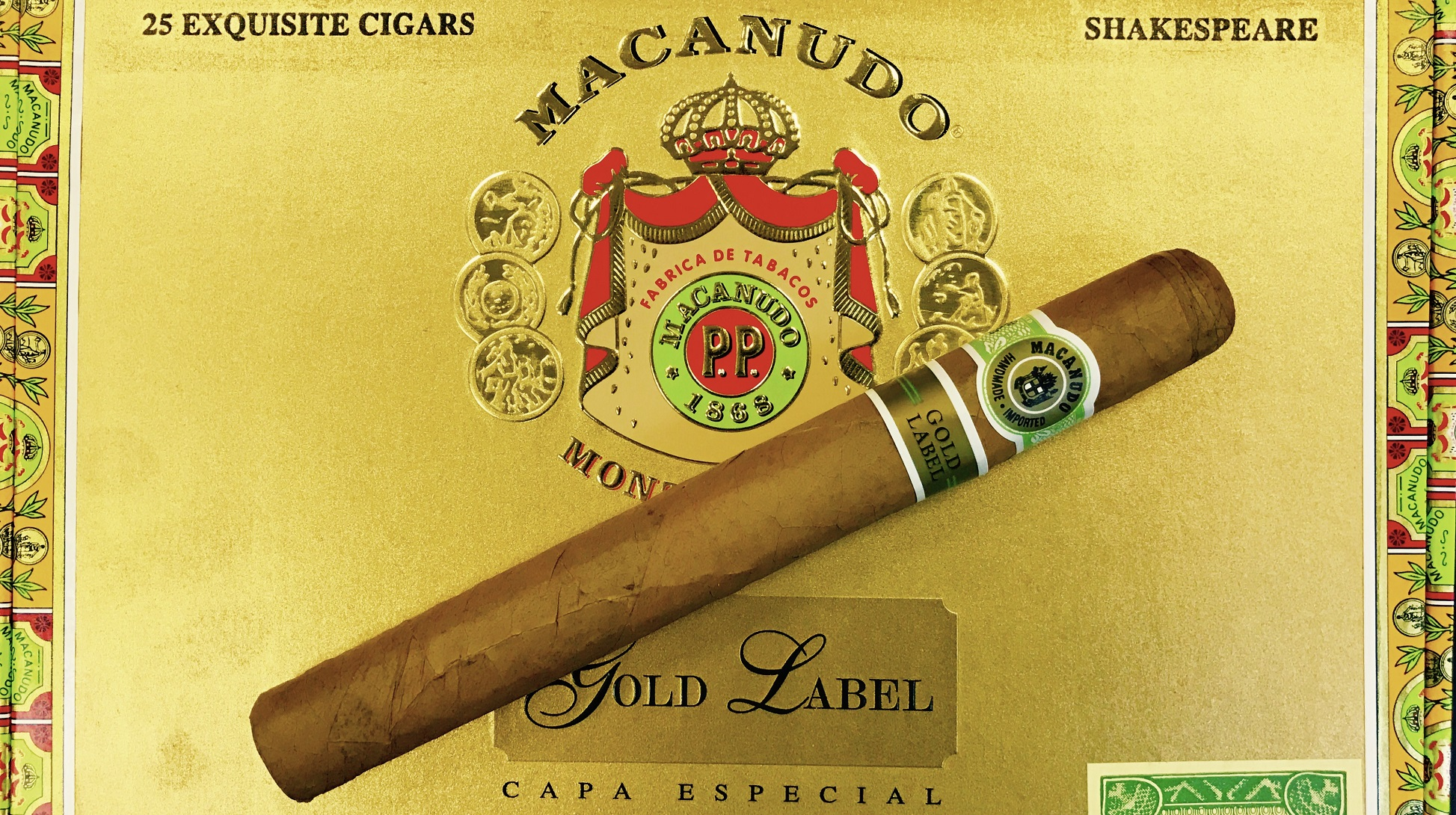 Macanudo Gold Label Shakespeare, Limited Edition - 5 Pack image