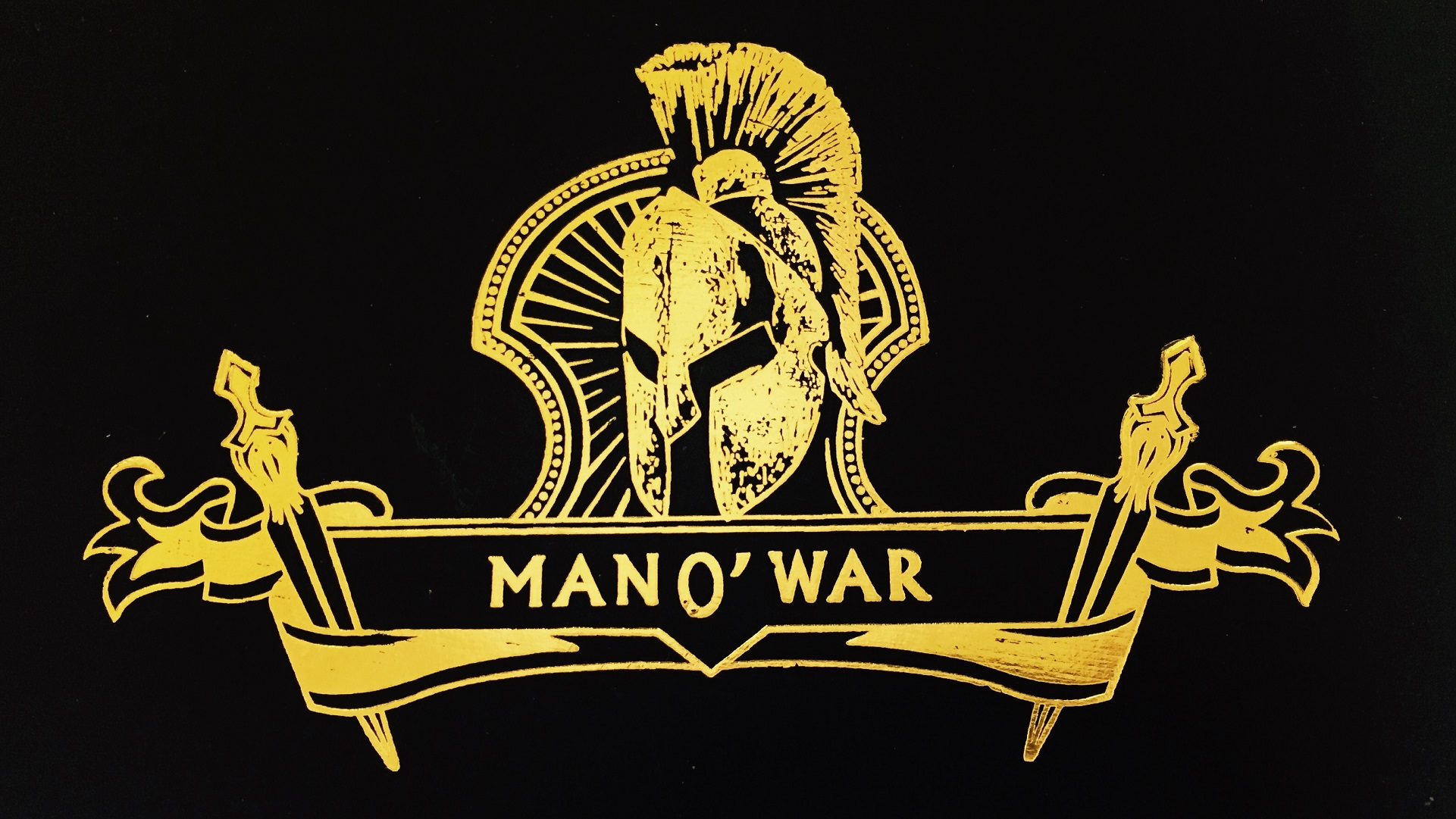 man o war cigars box image