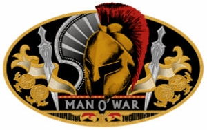 man o war cigars logo image