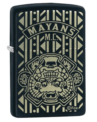 mayans motorcycle club zippo lighter image
