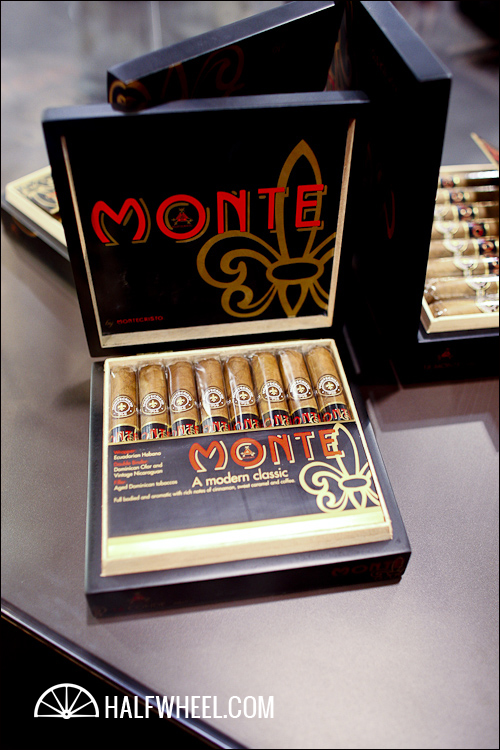 Monte by Montecristo Cigar Box Label, Matted, 8 x 10 image