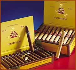 montecristo no. 2 cigar box image