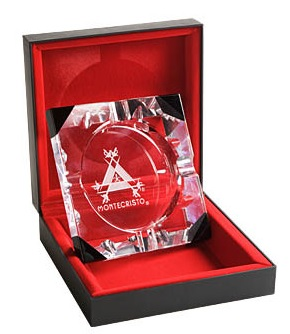 montecristo ashtray crystal image