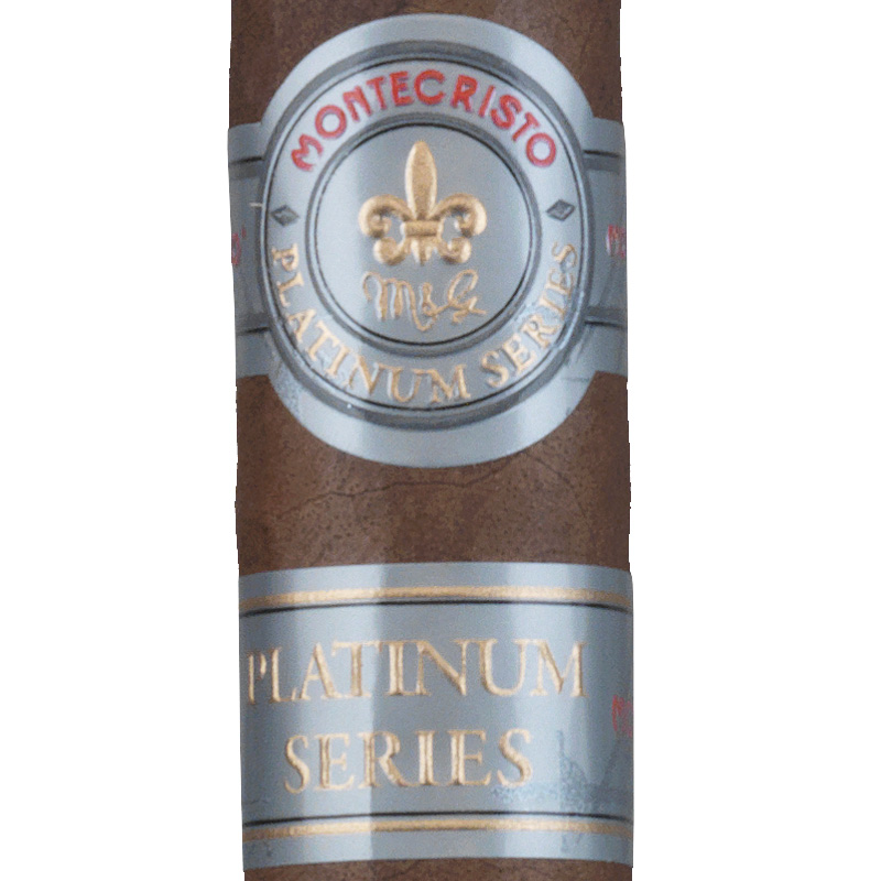 montecristo platinum rothchilde cigar close up image