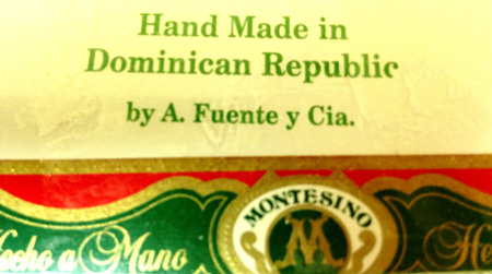Montesino Robusto - Box of 25 cigars image