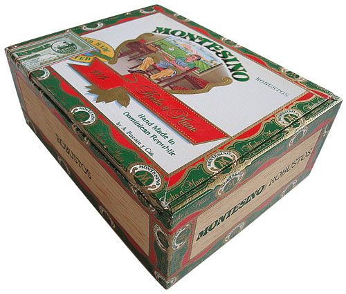 montesino no 1 cigars box side image