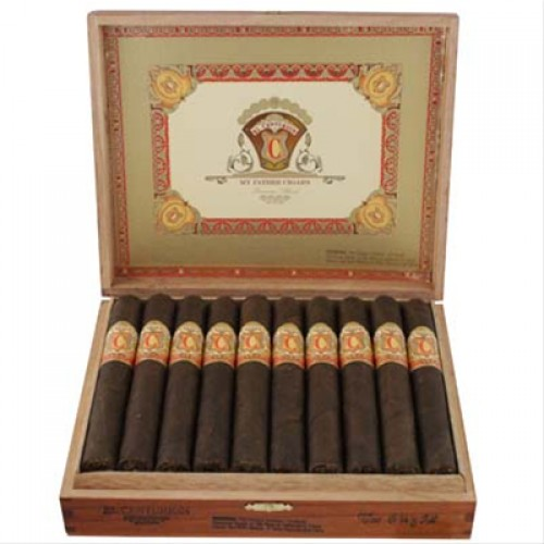 my father el centurion robusto cigars box open image