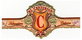 my father el centurion robustos cigar band image