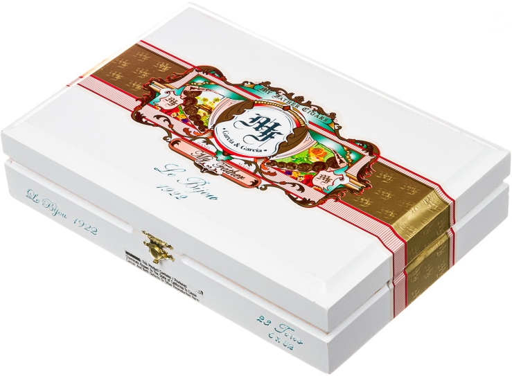 my father le bijou 1922 grand robusto cigars box closed image