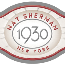 nat sherman 1930 cigar band image