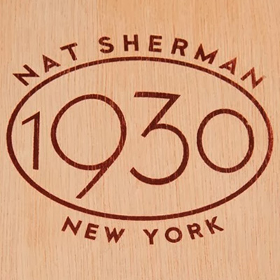 nat sherman cigars logo image