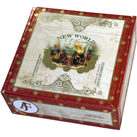 new world cigars box closed image
