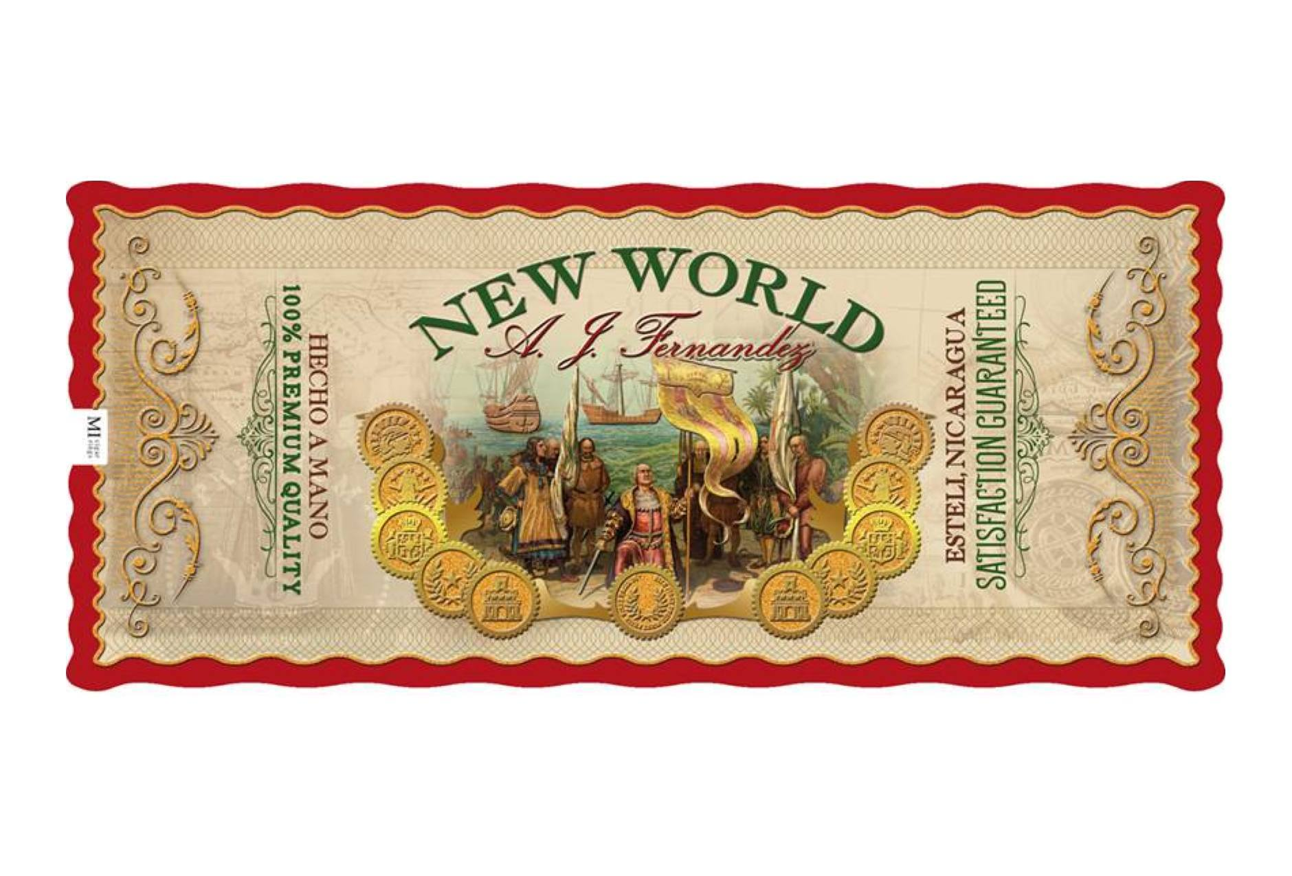 new world gordo cigars seal image