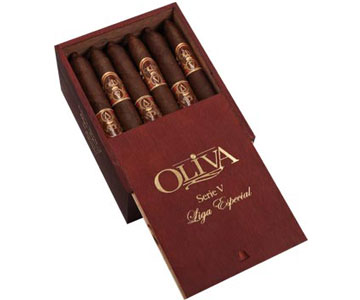 oliva series v torpedoes cigars box sliding lid image