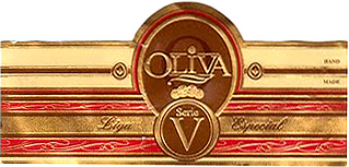 oliva serie v double toro cigar band image
