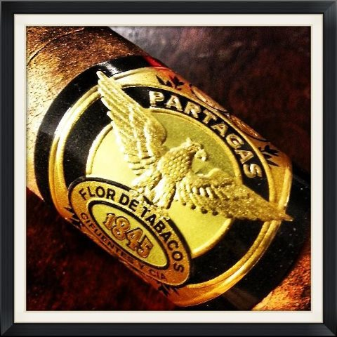 partagas black label cigars band image