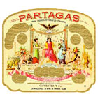 partagas cigars label image