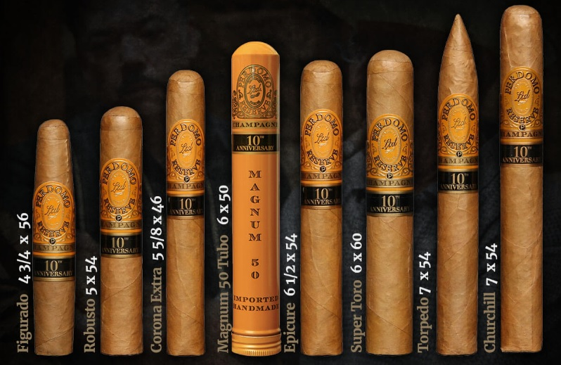 Perdomo Reserve 10th Anniversary Champagne Robusto - Box of 25 image