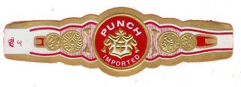 punch rare corojo cigars band image