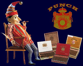 punch cigars sampler ad image