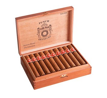 punch grand cru cigars box open image