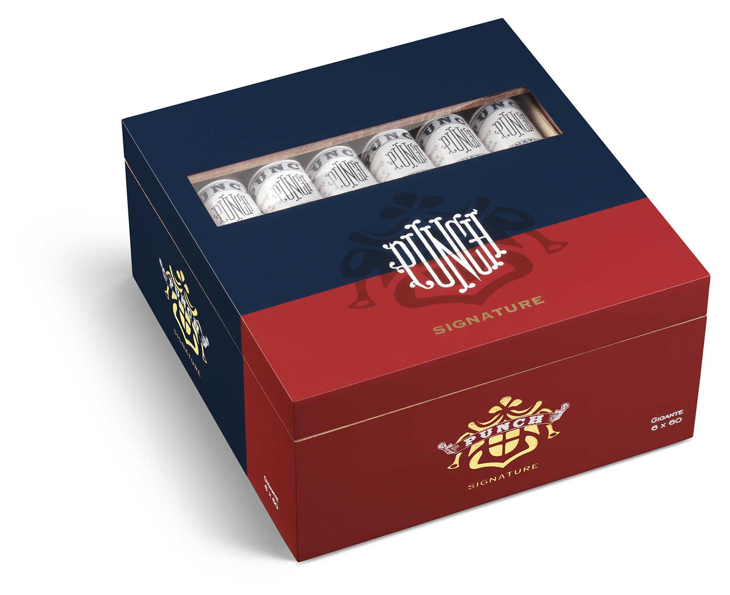 punch signature cigars box closed image