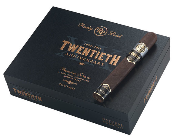 Rocky Patel 20th Anniversary Robusto Grande - Box of 20 image